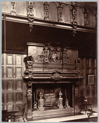 Chimneypiece, Great Hall, Charterhouse